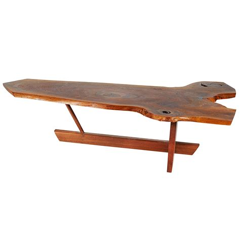 george nakashima coffee table george nakashima minguren coffee table for sale at 1stdibs