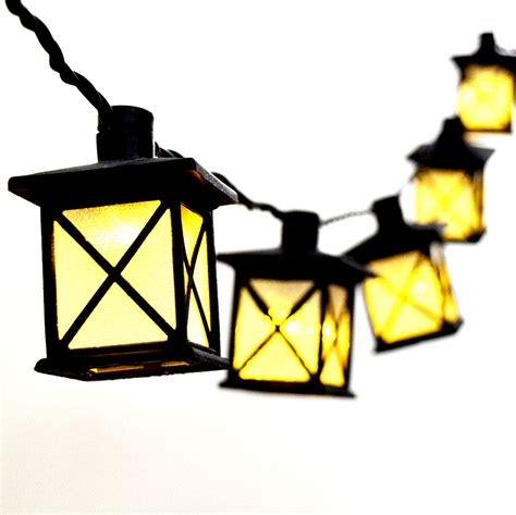 Lantern String Light Led Party String Light Lanterns 10 Lights