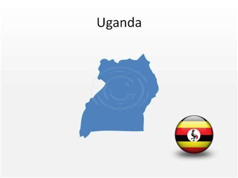 graphics design uganda download high quality royalty free uganda powerpoint map