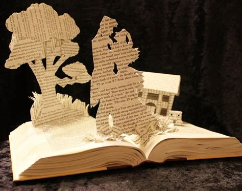Make Different Things With Paper - 25 most creative innovative book sculptures amazing