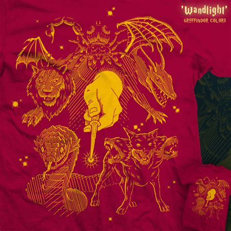 gryffindor colors shirt woot