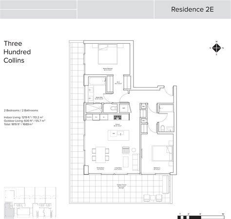digital floor plans 300 collins condo floor plans miami fl