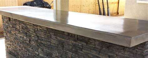 outdoor kitchen countertops concrete countertop styles design outdoor kitchen concrete
