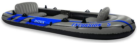 opblaasboot motor intex excursion 5 opblaasboot set kopen bestel vandaag