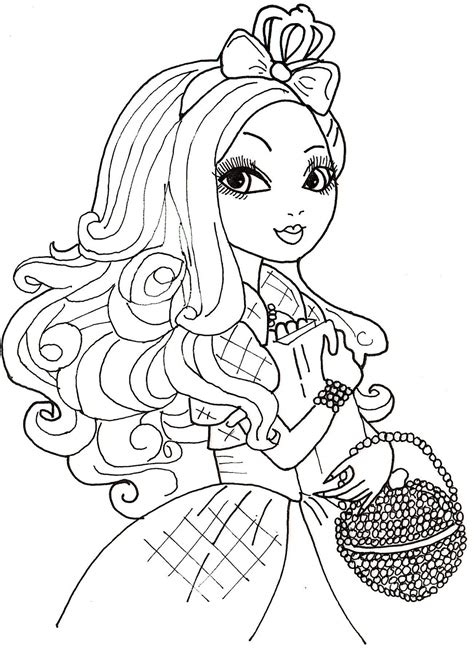 Coloring Pages After High free printable after high coloring pages apple white