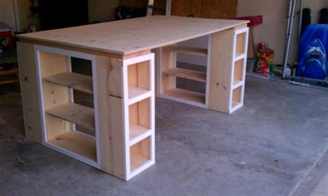craft table with storage for white modern craft table tweaked diy projects