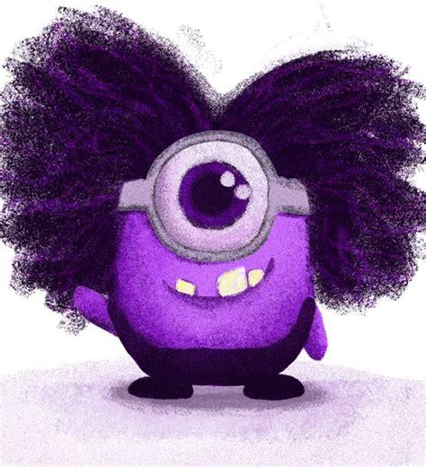 imagenes de minions bebes purple minion baby mi 241 on morado beb 233 minions