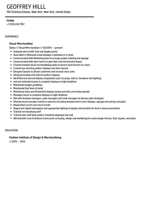 Application Letter Visual Merchandiser visual merchandiser cover letter pertamini co