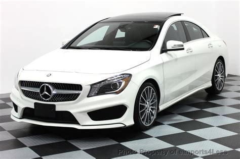 used mercedes cla250 2016 used mercedes certified cla250 4matic amg sport