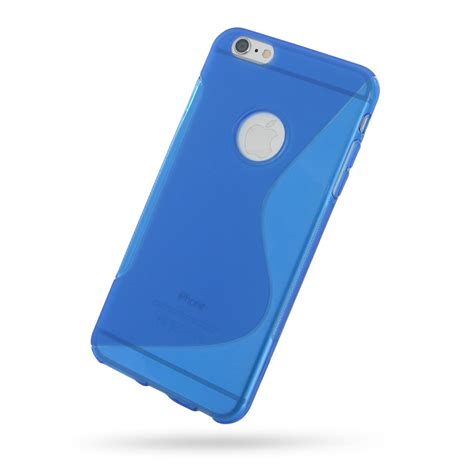 Softcase Iphone 6iphone 6 Plus 2 iphone 6 6s plus soft blue s shape pattern pdair