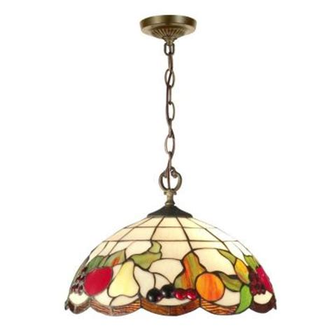 dale tiffany fruit l dale tiffany fruit 2 light antique brass hanging pendant