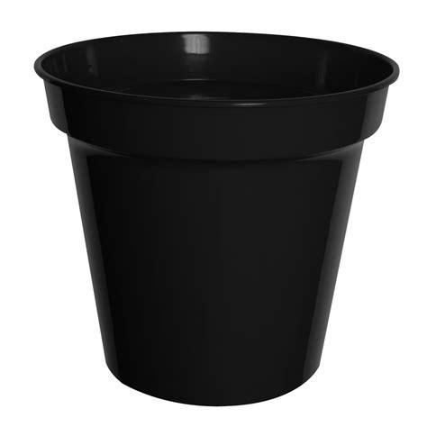 wilko black plastic plant pot cm wilko