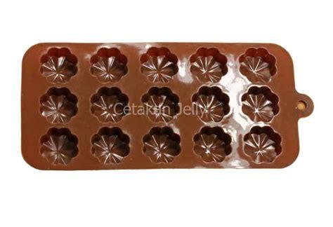Leaf By Cetakan Jelly cetakan silikon coklat puding mini leaf clover cetakan