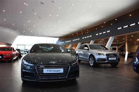 audi showroom clark motor opens 163 9m aberdeen audi showroom