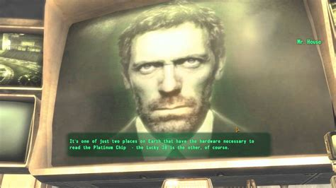 mr house fallout new vegas mods dr house as mr house youtube