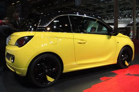opel adam yellow wheel idea i finally actually decided to try out