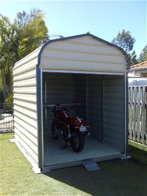Motorcycle Storage Shed by Motorbike Shed Wood Shed Plans Guide Shed Plans Kits