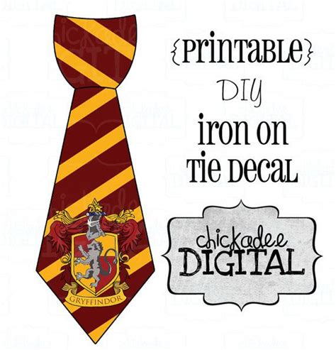 4 wizard stripes printable diy iron on tie decal baby