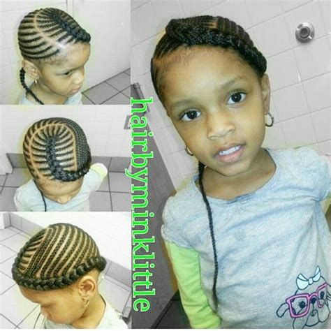 Black Kids Plaited Lines Styles | 510 best images about natural kids cornrows on pinterest
