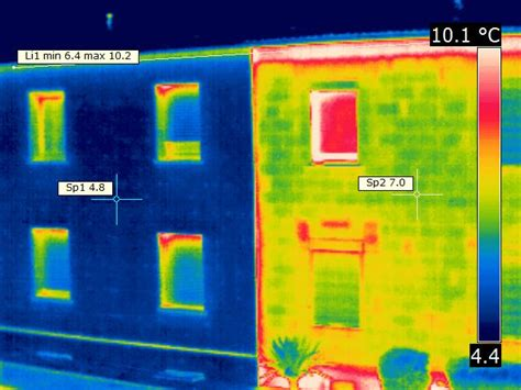 wärmebildkamera haus thermografie w 228 rmebildkamera vergleich foto bild