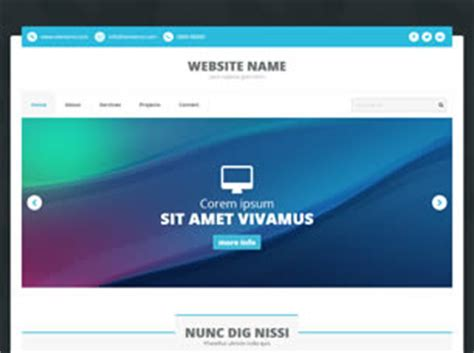 Rs Html 113 Free Website Template Free Css Templates Free Css Free Website Templates Html And Css