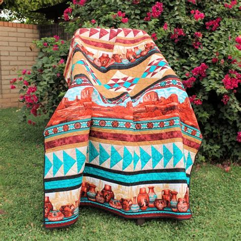 Southwestern Quilts by Southwestern Quilt Indian Inspiration Quilts