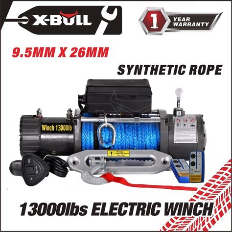 electric boat trailer winch canada x bull 12v 13000lbs electric winch towing truck trailer