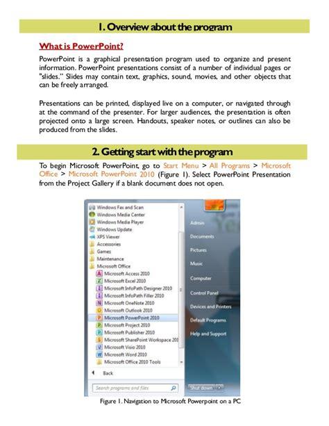 tutorial powerpoint 2010 pdf ms powerpoint 2010 tutorial 1