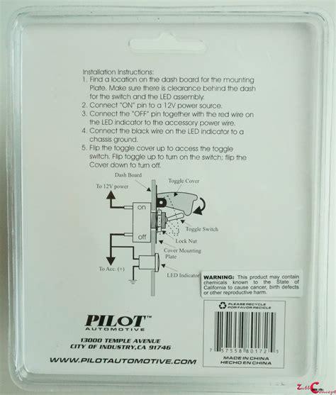Sale Pilot L Pastic Lu Indikator 12 Volt pilot chrome anodized safety cover aircraft toggle switch