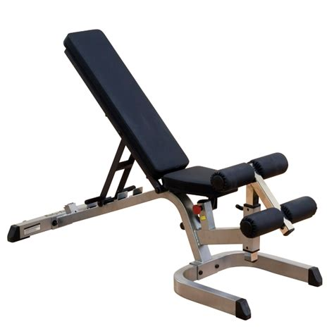 decline incline bench gfid71 body solid heavy duty flat incline decline bench body solid fitness