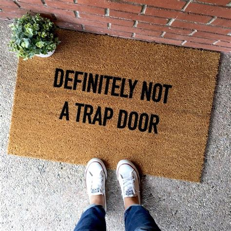 doormat funny 25 best ideas about funny doormats on pinterest front