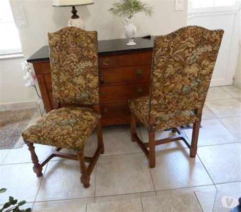 chaises louis xiii vends table louis xiii et 6 chaises posot class