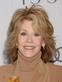 60 hairstyles fonda jane fonda layered shoulder length haircut for women over