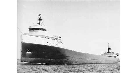 Largest Ship To Sink In The Great Lakes by Canada Honors Wreck Of Ss Edmund Fitzgerald With Coin