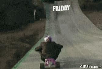 Friday Monday Meme - gif friday vs weekend vs monday