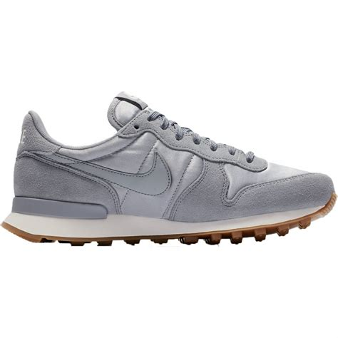 nike internationalist sneaker damen schuhe grau