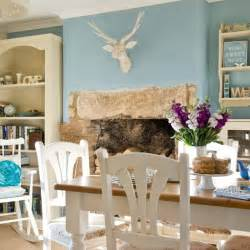 Ideas Country Style Dining Rooms Duck Egg Blue Dining Room Country Decorating Ideas Housetohome Co Uk