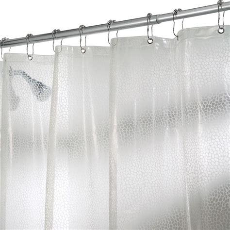 interdesign rain shower curtain  clear   home