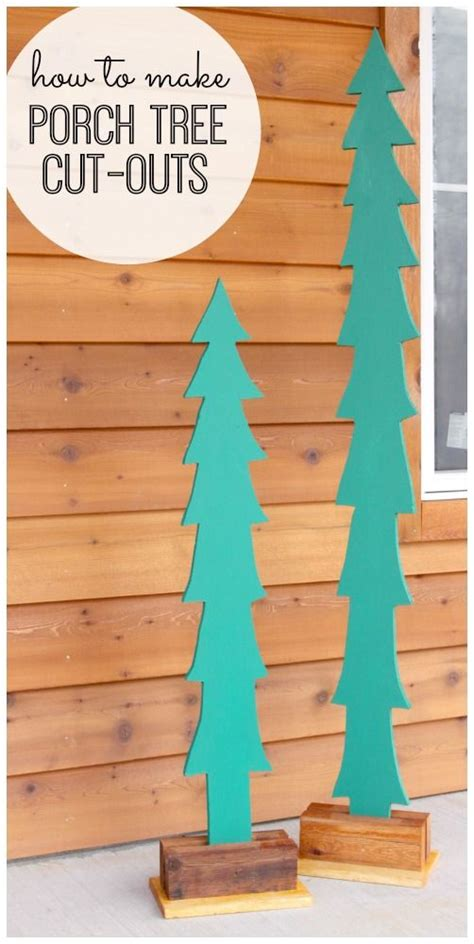 primitive metal christmas signs with cut your own trees diy primitive crafts picmia