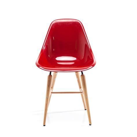 retro design esszimmer stuhl quot guscio quot mit sitzschale und