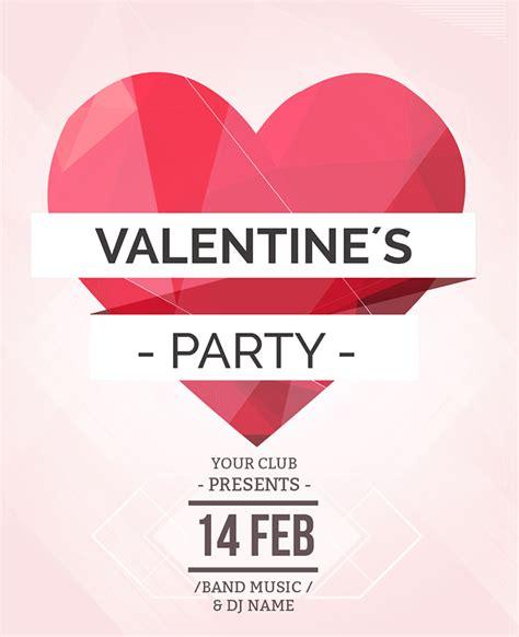 valentines invitation 25 best invitation templates for 2015 free
