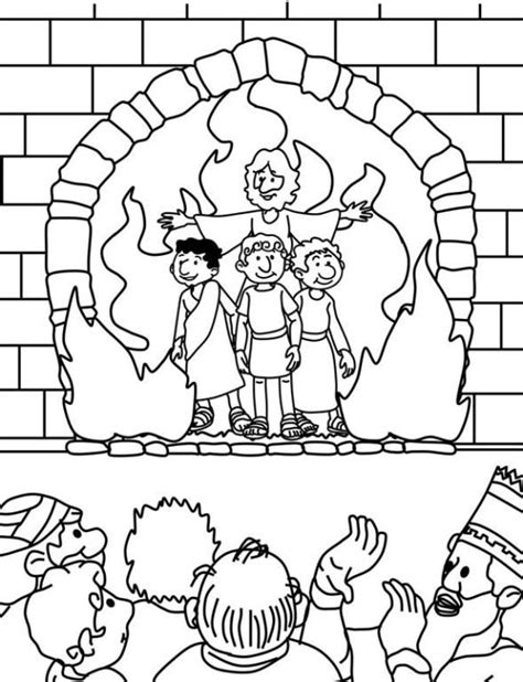 Daniel 3 Coloring Page by 46 Best Images About Journey The Map Crafts 2015 On