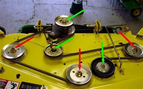 deere 54 inch mower deck tension deere 54 inch mower deck spindle deere z810a z