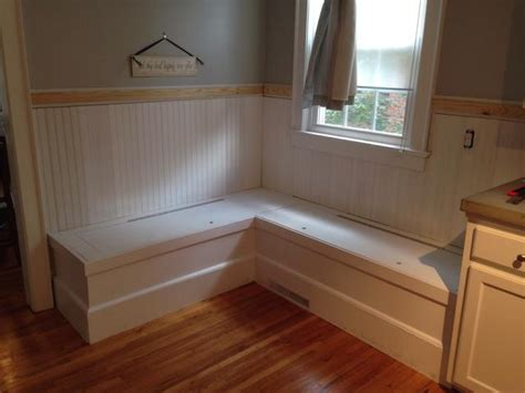 Define Wainscot how to make a custom breakfast seating nook