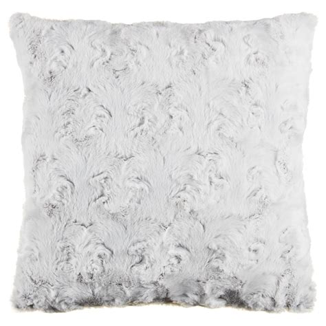 gemma textured faux fur cushion cover pk home decor bm