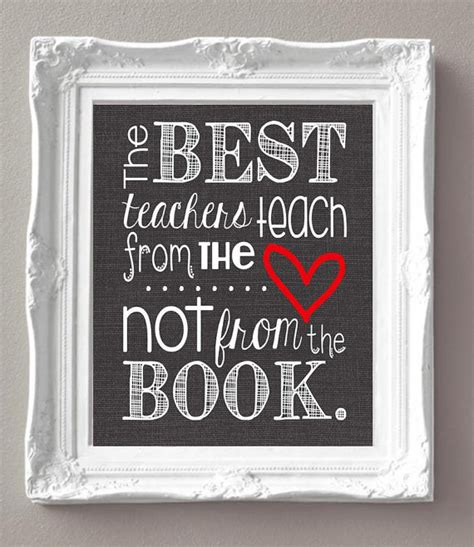 inspirational gifts from the books the best teachers teach from the not from the book
