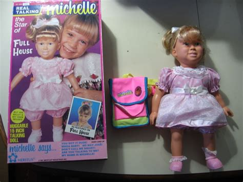 michelle doll full house talking michelle doll from full house w box manual works great on popscreen