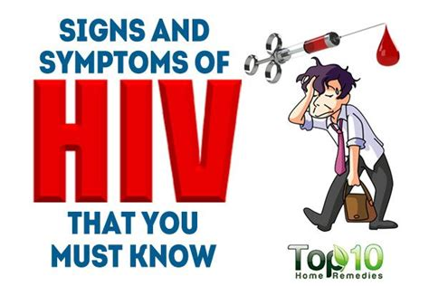 early hiv aids symptoms ehow 10 early signs and symptoms of hiv that you must know