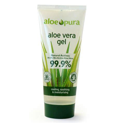 gel aloe vera aloe pura organic aloe vera gel 200ml ebay