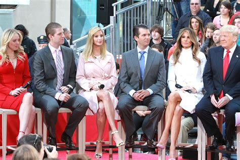 the trump family ivanka trump joins father on today show wears her own